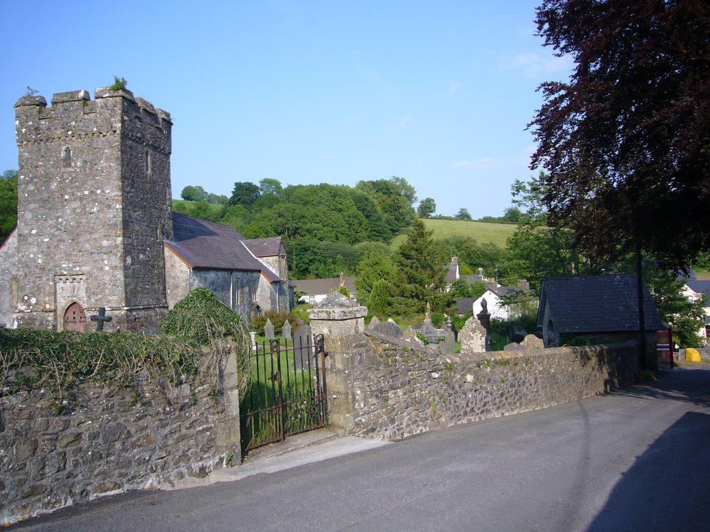 Llanfynydd church