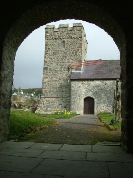 Around Llanfynydd