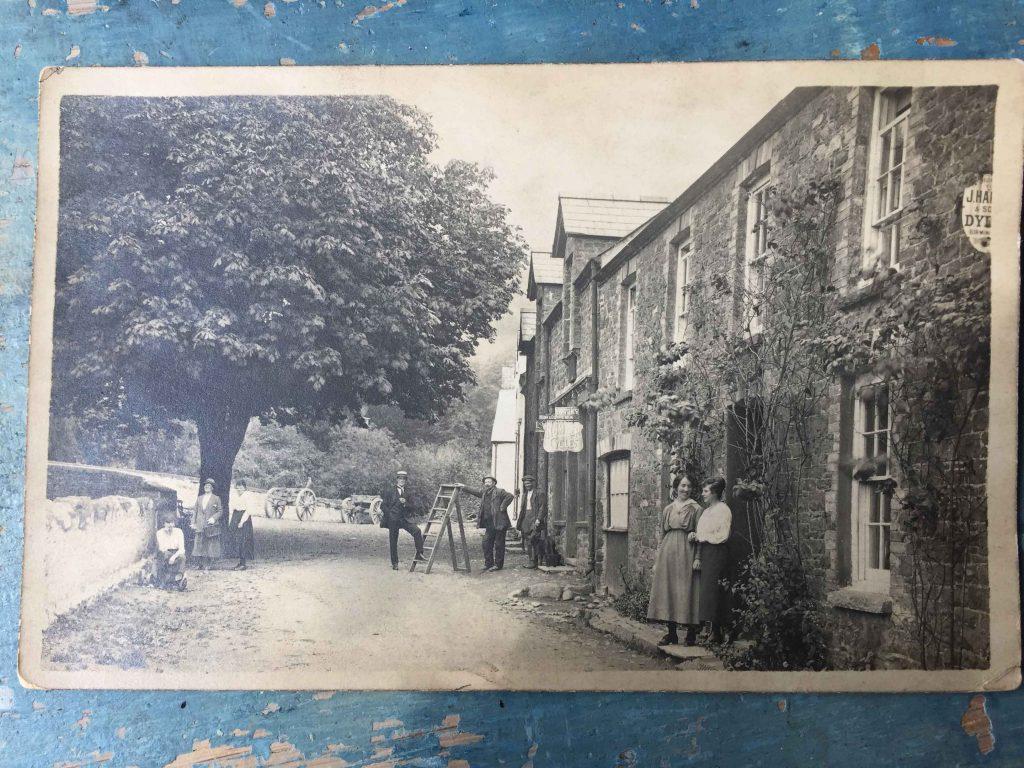 Llanfynydd village date unknown