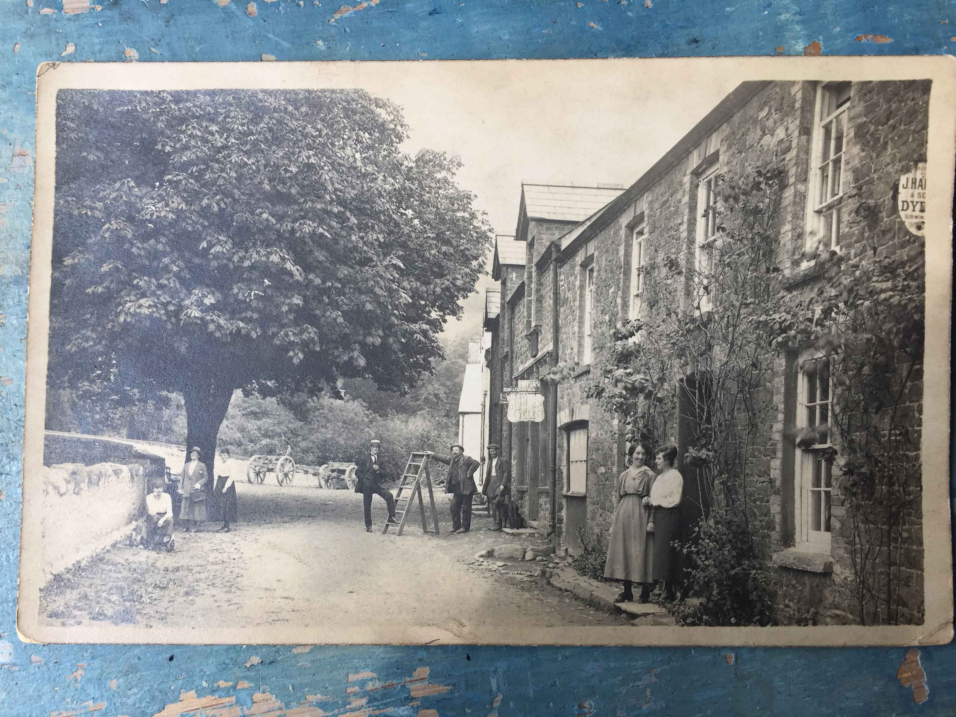 Llanfynydd-village-date-unknown