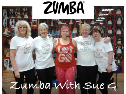 Zumba with Sue G Llanfynydd