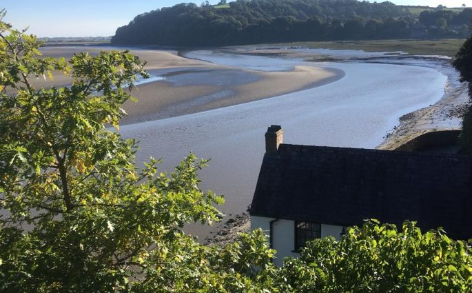 Dylan Thomas's Boathouse Laugharne