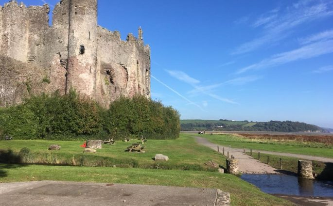 Laugharne – Castles and Dylan Thomas