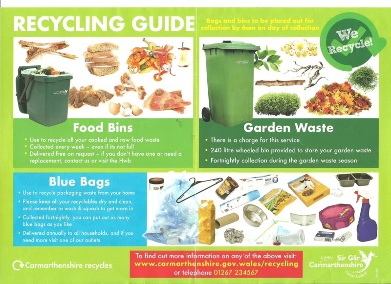 Recycling guide for recycling centres Aug 2019 001