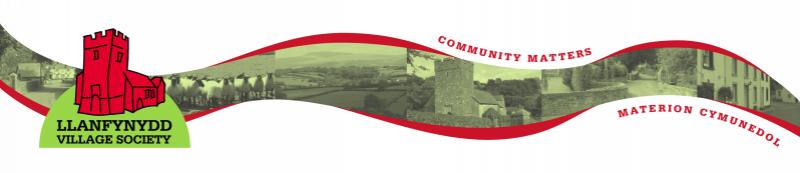 Llanfynydd village society logo